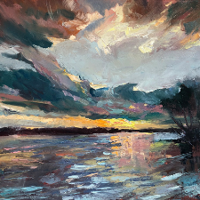 Holly Buehler - Autumn on the Potomac