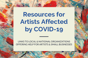 Artist Resources during COVID-19